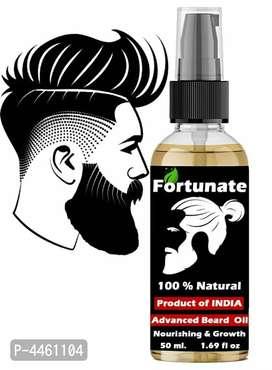 100% working Beard growth oil