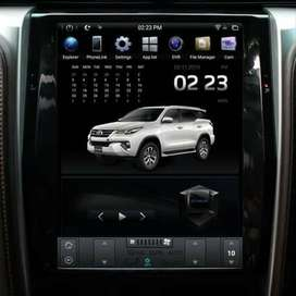 Head Unit All New Fortuner Android Model Tesla | KIKIM Variasi