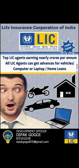 Join as A LIC agent Government Insurance company