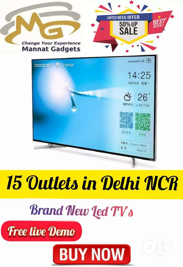 32 inch Smart LED TV || Amazing Picture Clarity, 2 HDMI ports** 0
