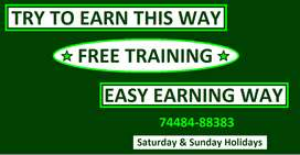TRY TO EARN THIS WAY