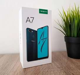 Sealed Pack Oppo A7 4gb 64gb Glaring Gold With Bill & Warranty
