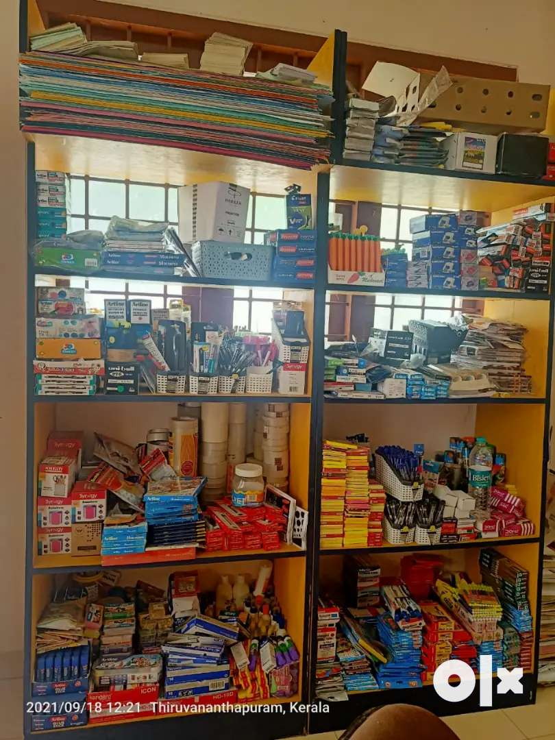 Stationery Items & Racks