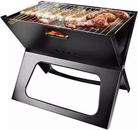BBQ grill - foldable and portable