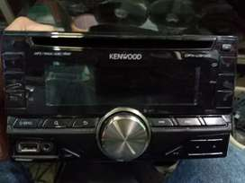Head unit kenwood DPX 5130 cd mp3 aux in usb