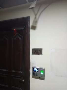 Biometric attendance system with access control door locks