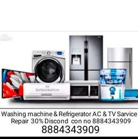 Washing machine Raktifar & Ac TV Sarvice & Repair