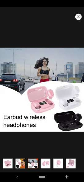 Tws Earbuds for Girls L21 Bluetooth 5.0 Wireless Headset