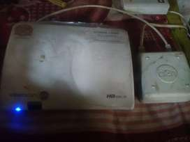 Videocon d2h full hd set tob box with remote