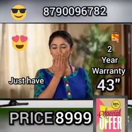 Its BRAND NEW SMART 43 INCH LED TV 4K WITH 2 YEAR WARRANTY