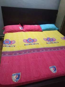 King Size Hometown branded  Bed with Mattress for Sale