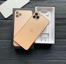 Iphone 11pro max 64GB Gold Amarican one year Warranty
