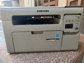SAMSUNG SCX3401 LASER MULTI FUNCTION PRINTER used at home only