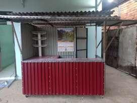 Gerobak Container