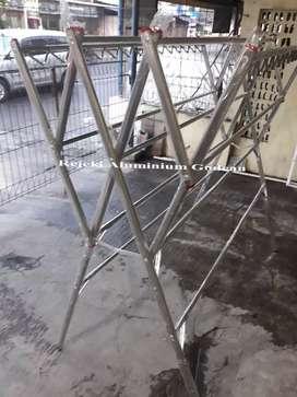 Jemuran stainless stell ukuran super jumboada cantolan hanger p11