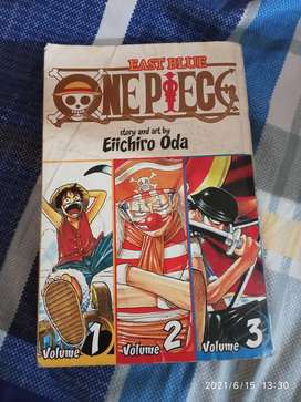 One Piece Volume 1,2 and 3
