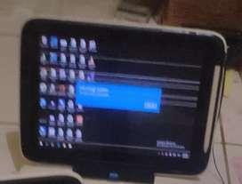 Tablet  Eduspec Speedup 2in1 Intel Inside batang OS windows lcd garis