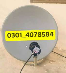 Dish Antenna new setup home delivery provide 0301_407_85_84