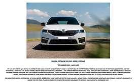 Skoda Octavia VRS 245 2020 white