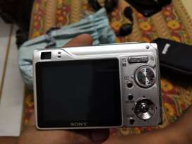 A sony camera it has changeable battery