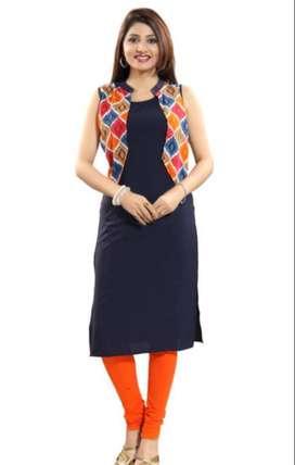 Stylish Polyester Women's Kurti