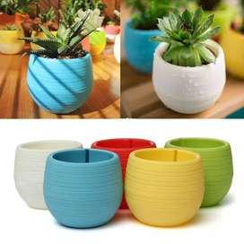 Pot Bunga Hias Mini (Dapat 5 pcs, Free Ongkir Batam)