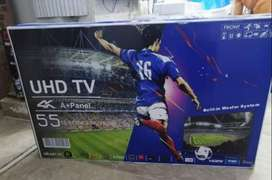 55 INCH SMART LED TV NEW BOX PACK 1 YEAR WARRANTY