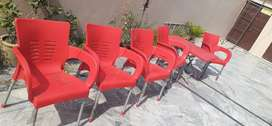 Original Boss Puro chairs and table