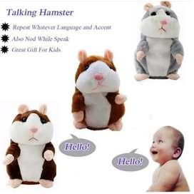 Talking hamster mainan