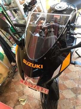 Di Jual Suzuki GSX Thn 2019 Kondisi 99% masih baru jarang pakai,,