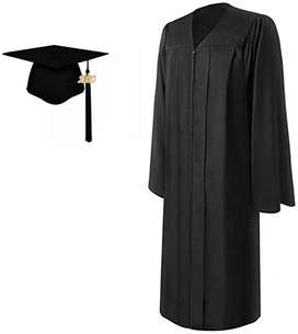 Graduation/Convocation Gown and Cap