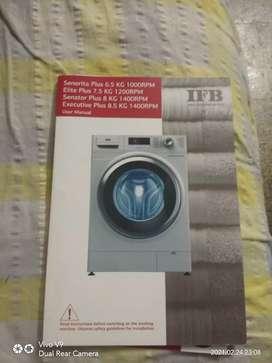 washing machine elite plus sxr 7.5 kg IFB