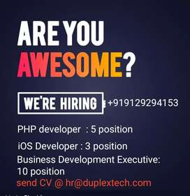 iOS developer job in Lucknow