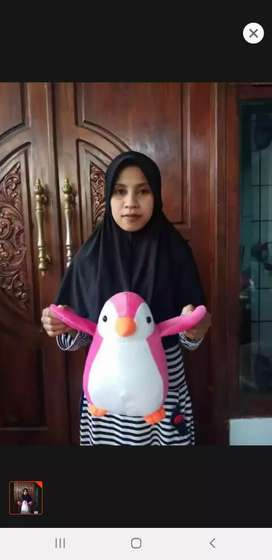 Boneka penguin terbaru murah