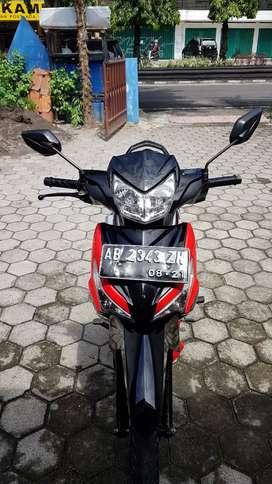 Supra x 125 cc  2016 plat slmn istmw