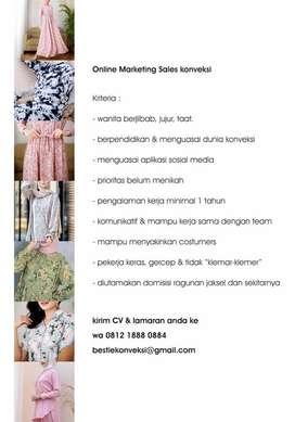 Marketing online untuk konveksi