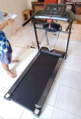 Treadmill Elektrik Massager 2 Fungsi, Alat Fitnes Olah Raga Treadmil