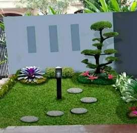 Jual rumput gajah mini menerima pembuatan taman rumah& kantor