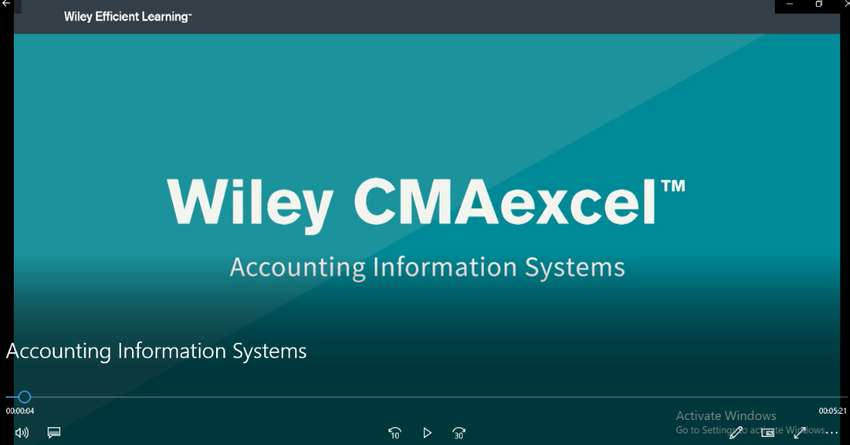 CMA Wiley Video Lectures 2020 (Official IMA Partner) Comprehensive & C 0
