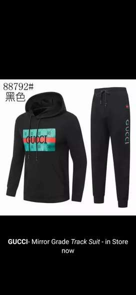 Gucci/tommy track suits for mens.