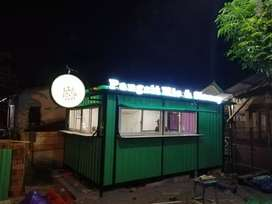Box container, container booth cafe, container makanan,container usaha
