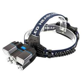 Senter Kepala Headlamp Cree XM-L2 + 2XPE + Red Blue LED TG-007