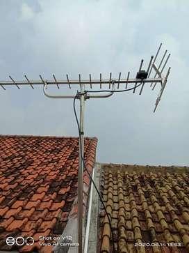 Mari kita pasang antara tv UHF digital