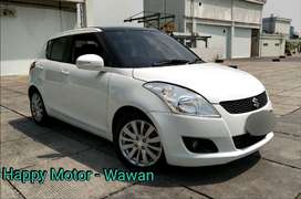 Suzuki Swift 1.4 GX Matic 2015 Km 58rb Mulus Terawat