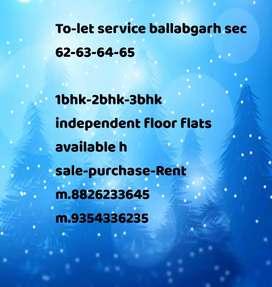 Ballabgarh sec 62-64-65 rent house available sari jankari niche h