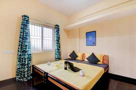 Fully Furnished 2BHK -24/7 UPS Power, Water, Internet