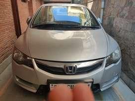 Honda Civic 2010 with CNG installed (no tank)