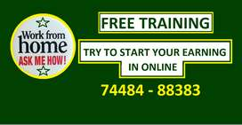 FREE TRAINING (Work in Home)