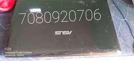 Asus laptop 2 gb ram...500 gb hard disk