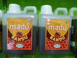 Madu randu 1/2 liter ready